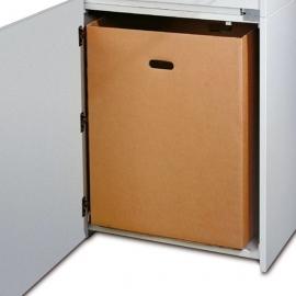 Zestaw pojemników na ścinki do niszczarek Dahle 20082